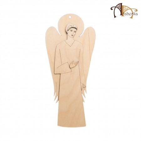 anioł ze sklejki, wzór 5