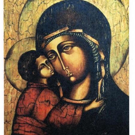 ikona Matki Boskiej - papier ryżowy