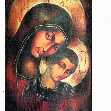 papier ryżowy - Ikona Matki Boskiej