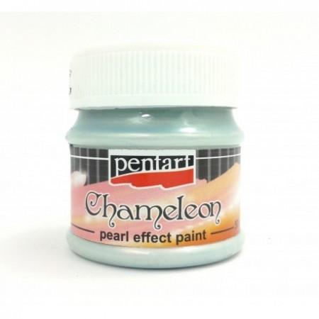 Farba akrylowa chameleon 50 ml – niebiesko-brzoskwiniowy
