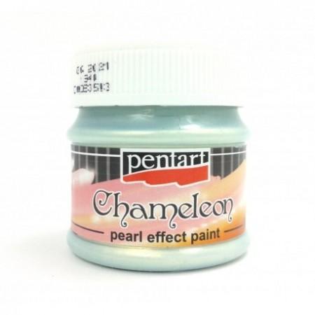 Farba akrylowa chameleon 50 ml – niebiesko-złoty