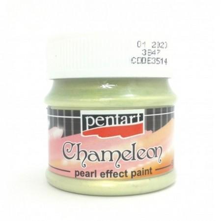 Farba akrylowa chameleon 50 ml – zielono-złoty