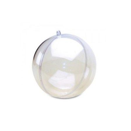 bombka akrylowa przeźroczysta