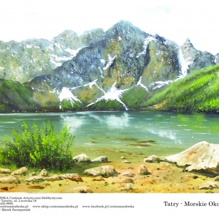papier ryzowy do decoupage Morskie Oko