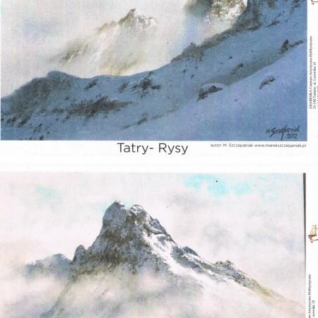 papier ryżowy Tatry