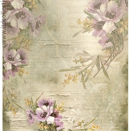 Papier ryżowy do decoupage ITD R1192 A4